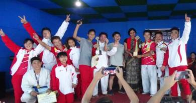 5th state level Shotokan state Karate championship- SAI  team emerge as champion