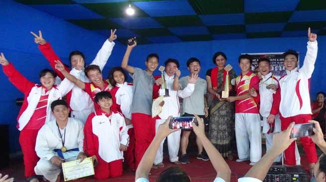 5th state level Shotokan state Karate championship- SAI team emerge as champion