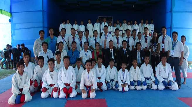 Tara inaugurates 5th state level sotokan Karate-Do tournament