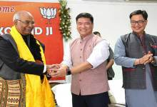 Photo of NDA's Presidential Candidate Ram Nath Kovind Visits Arunachal-  Khandu and team accorded warm welcome