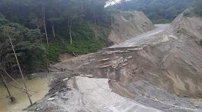 Arunachal- Sagalee cut off from rest of the world