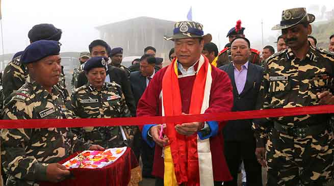 Tawang- Khandu launches Rescue and Relief Team of SSB
