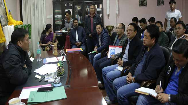 Khandu Warns Govt employees- Perform or face stern action