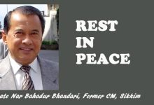 Photo of Sikkim: Former CM Nar Bahadur Bhandari passes away