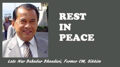 Photo of Sikkim: Former CM Nar Bahadur Bhandari passes away