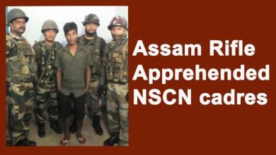 Photo of Changlang- Assam Rifle Apprehended NSCN cadres