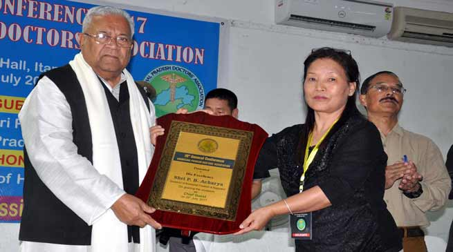 Teachers and doctors are the most respected persons in the society- Guv P B Acharya