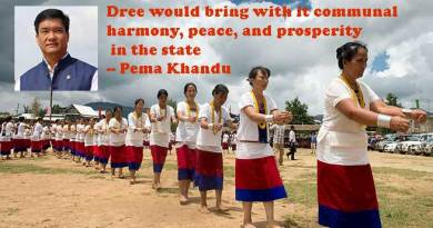 Pema Khandu extends his greetings on the eve of Dree festival