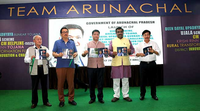 Several scheme launches to mark one year of Khandu's Govt