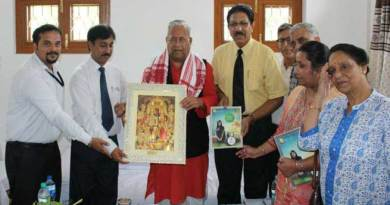 Namsai- AUS delegation meet with Guv P B Acharya