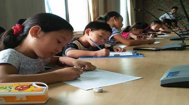 Hotel PYBSS organises 'Handwriting Olympiad'