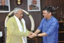 CM Khandu meets with Guv Acharya