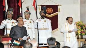 CM Khandu Congratulates Venkaiah Naidu As he Takes Charge As India's 13th Vice President