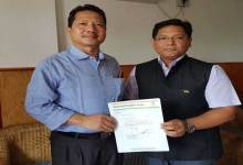 State NCP merge with NPP and extend Support  to Khandu Govt
