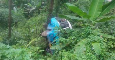 Itanagar-Kamba bound night super bus met with accident