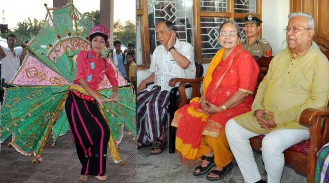 Namsai- Guv P B Acharya visits Tai-Khamti Singpho Museum cum Research Centre