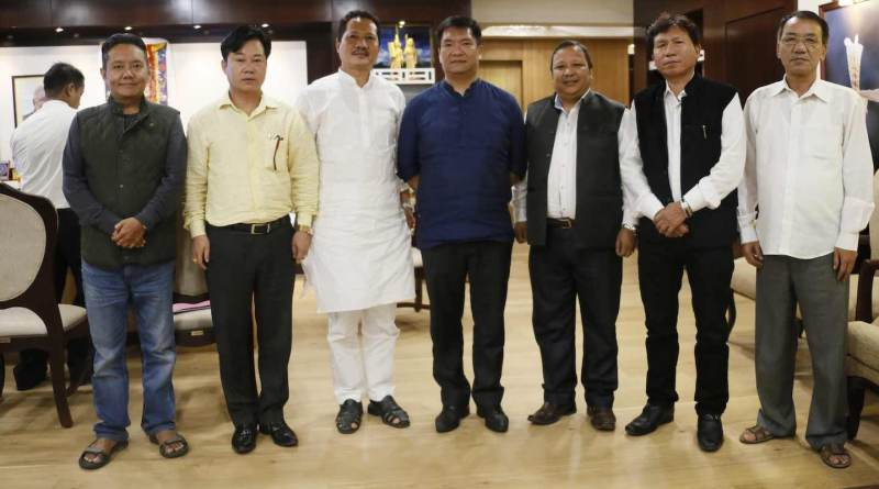 CM Khandu launches state's website