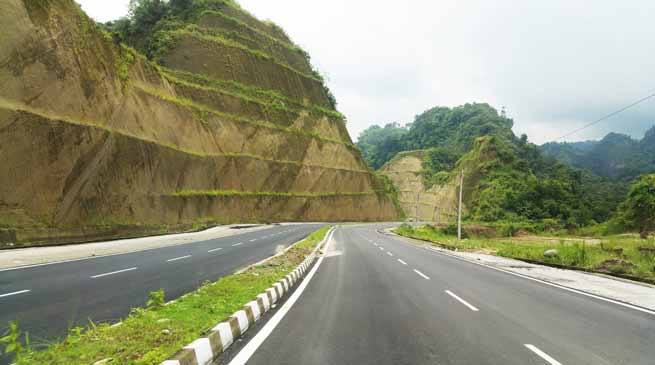 Trans Arunachal Highway are not constructing as per DPR