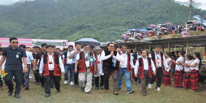 Siang- Chown Mein attends Solung Festival at Boleng