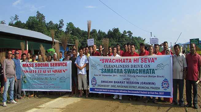 From the Camera: Swachhata Hi Seva in and around Itanagar