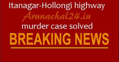 Itanagar-Hollongi highway murder case solved