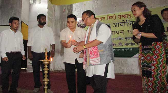 Hindi is a medium to understand and spoke commonly in Arunachal-Alo Libang