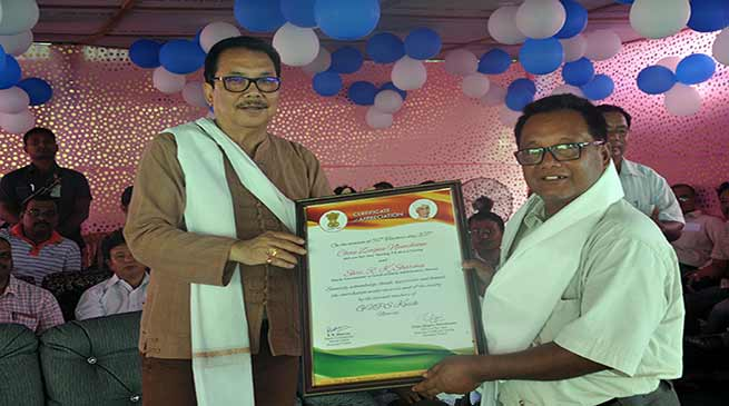 Chowna Mein and Zingnu joins Teacher's Day Celebrations at Namsai and Mahadevpur
