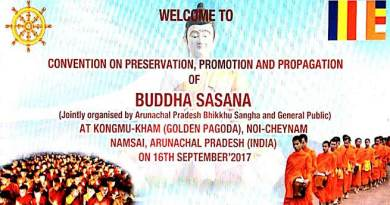 Namsai is all set to hold the convention on preservation, promotion and propagation of Buddha Sasana