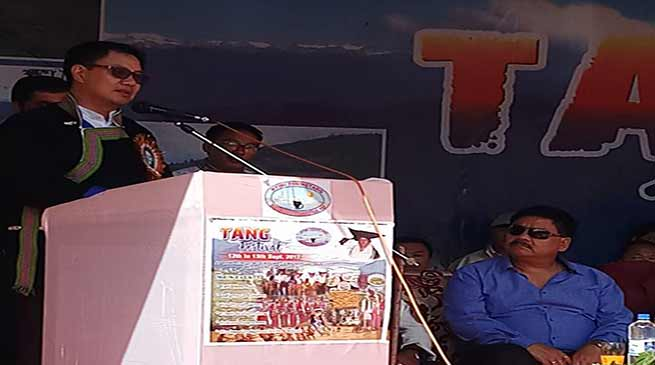 Rijiju assured Sartang Tribe for inclusion in ST list