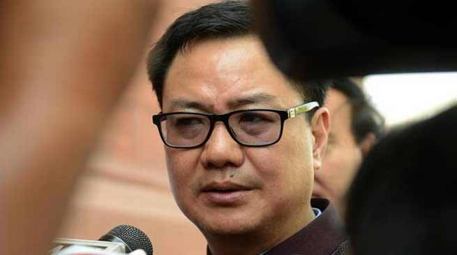 Arunachal: There was a misconception among the people regarding PRC- Kiren Rijiju