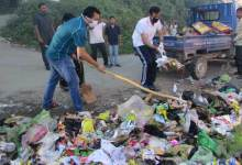 "Photo of DC Prince Dhawan took parts in ""swachhta hi seva"" programme"