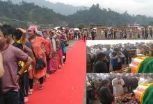Photo of Hundreds pay tribute to late Jomde Kena at Naharlagun Helipad, Condolence poured in