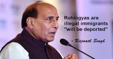 "Rohingyas are illegal immigrants ""will be deported"" - Rajnath Singh"
