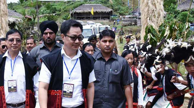West Siang district is worst in terms of road connectivity- Rijiju