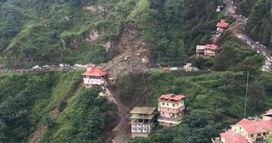 WATCH VIDEO- Landslide in Shimla's Dhalli
