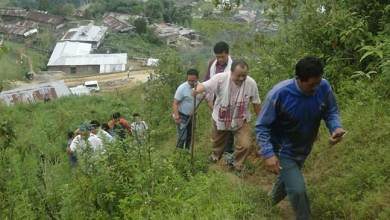 Photo of Tagak visited proposed site for Puroik Rehabilitation center