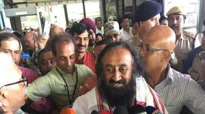 """Sri Sri Ravishankar says """"Northeast can be developed only with people's participation"""""""