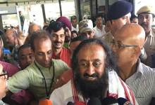 "Photo of Sri Sri Ravishankar says ""Northeast can be developed only with people's participation"""