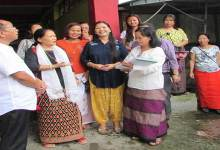 Photo of F Sector's women ask Kaso to construct water tank and renovate Community Hall
