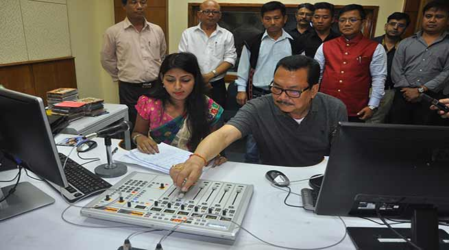 Chowna Mein launches Arun FM