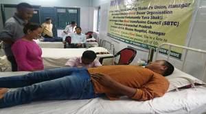 Itanagar: AVBDO conduct blood donation camp