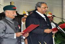 Brigadier ( Dr ) BD Mishra sworn in as Arunachal Pradesh governor