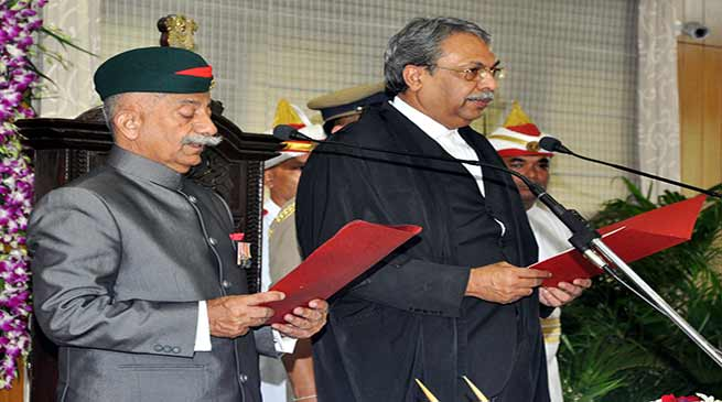 Brigadier ( Dr ) BD Mishra sworn in as Arunachal Pradesh governor