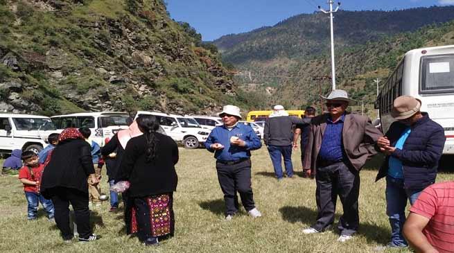 Dirang welfare society Bomdila organised a PICNIC