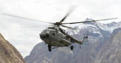 UPDATE- IAF helicopter Crashes in Arunachal; 7 killed