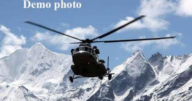 Arunachal-  Six dead as IAF helicopter crashes in Tawang Valley