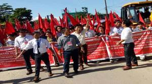 TRP 2014 issue: SUMAA takes out protest rally