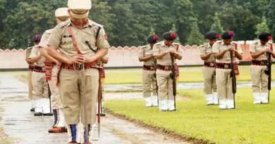Arunachal Pradesh Police observe Police Commemoration Day