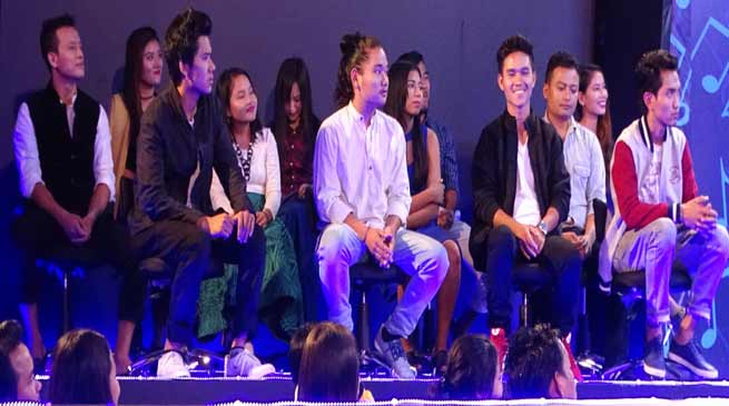 Arunachal Idol season-II, Introduction and competition round begins