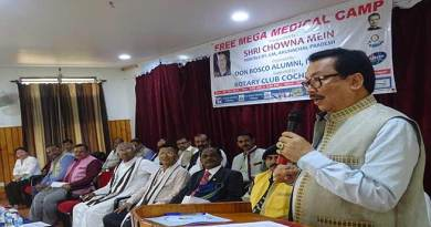Itanagar; Don Bosco Alumni organises free mega medical camp
